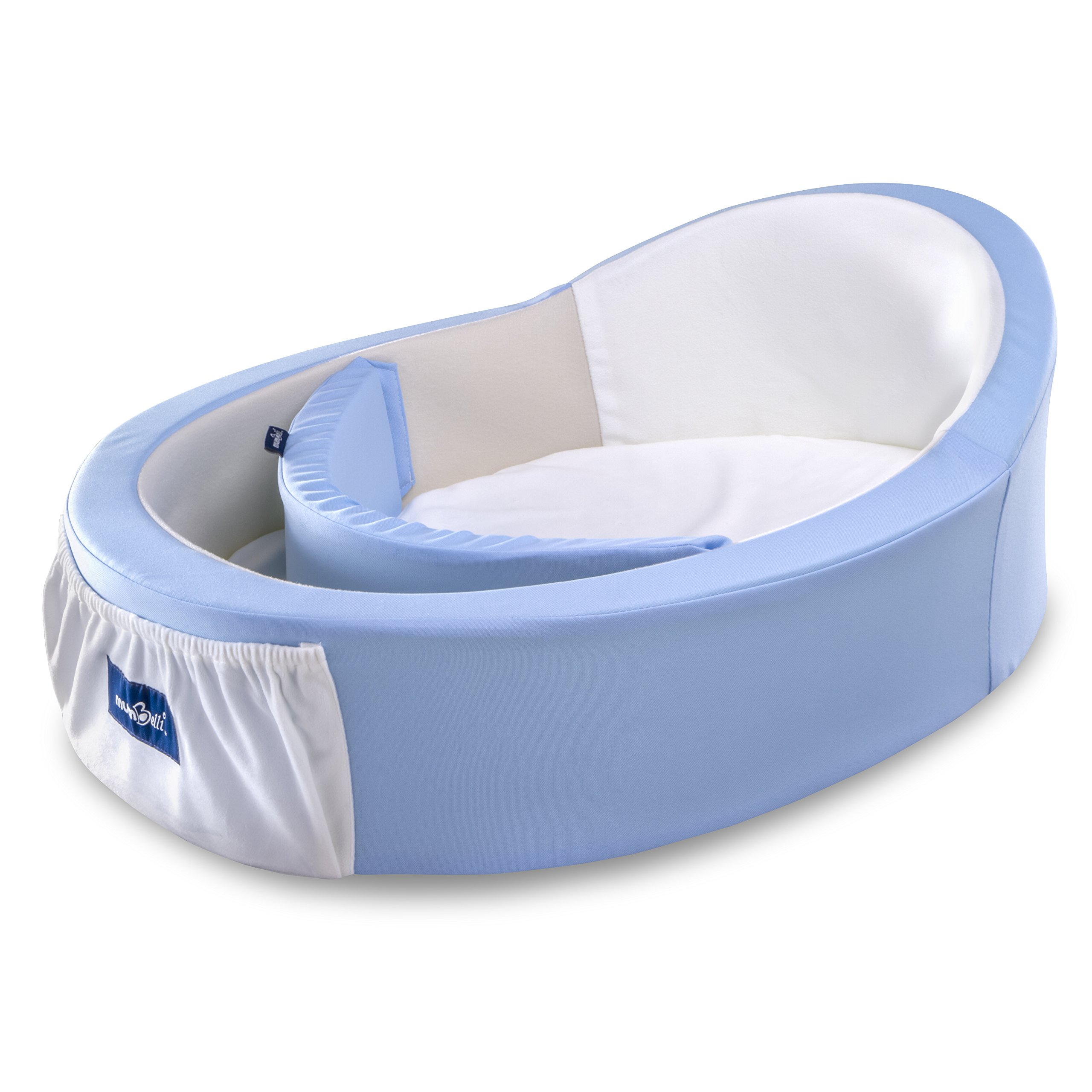 Mumbelli - The only Womb-Like and Adjustable Infant Bed. Patented Design, Safety Tested, Reflux Wedge Included. Great for Travel, co Sleeping and Crib Insert. by Mumbelli (Image #1)