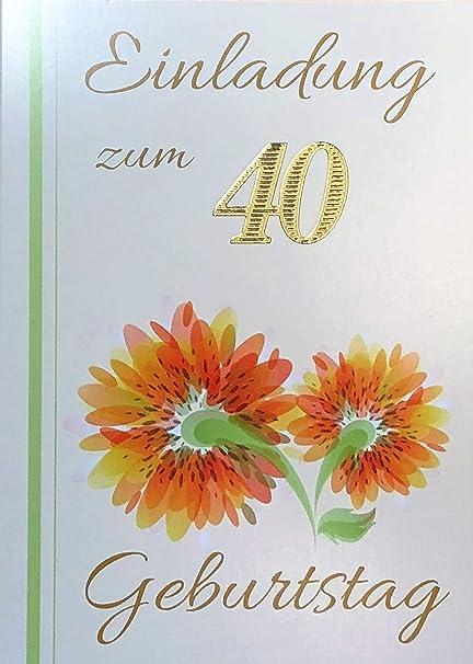 Tarjetas De Invitación 40 Cumpleaños Muñeco De Mujer Con