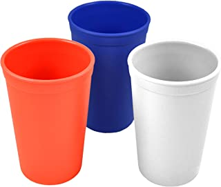 product image for Re-Play Made in the USA 3pk Drinking Cups for Baby and Toddler - Red, White, Navy Blue (Patriotic - 4th of July)