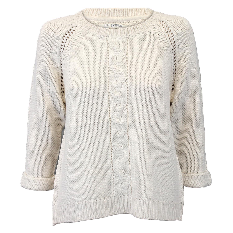 Love Knitwear Womens Knitted Jumper ILS157