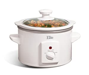 Maxi-Matic MST-250XW Slow Cooker 1.5 Quart White