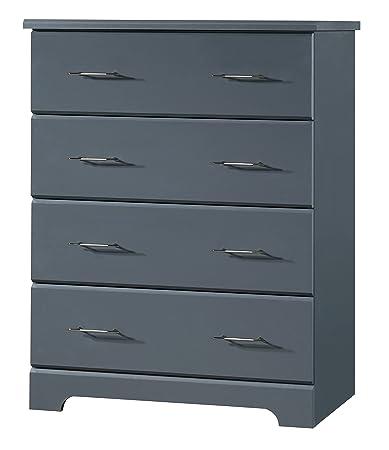 Amazon.com: Storkcraft Brookside 4 Drawer Chest, Gray, Kids Bedroom ...