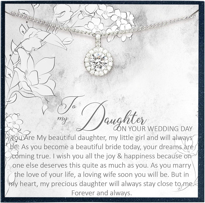 Grace of Pearl Regalos para mi hija en ella, regalo para el día de la boda, regalo de madre, regalo de boda, regalo de boda, regalo de compromiso para hija de padres