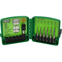 6-Piece Greenlee DTAPKIT 6-32 to 1/4-20 Combination Drill and Tap Set