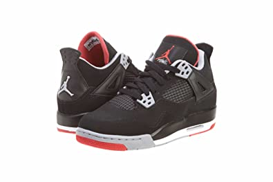 82502f66bf5765 Amazon.com  Jordan Air 4 Retro Big Kids Style  408452-089 Size  3.5 ...