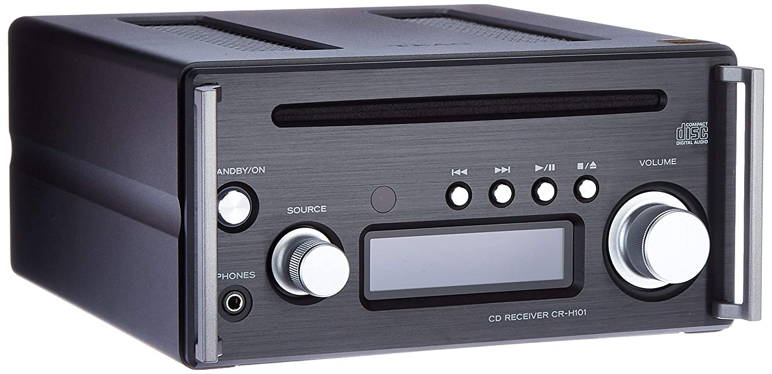 Teac CD Receiver for Hi-Res, Black
