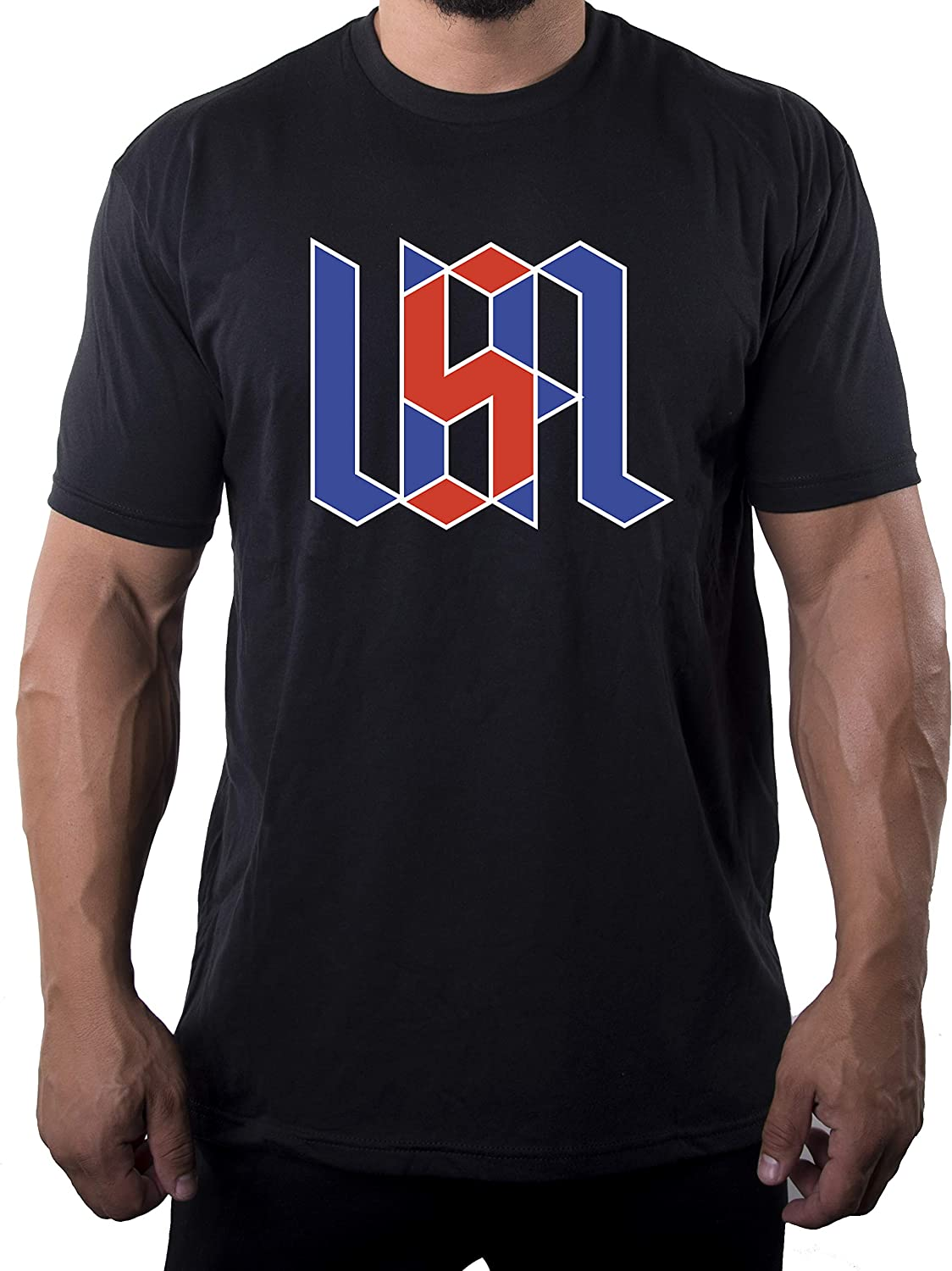 Mato & Hash USA T-Shirts, Men's 4th of July Shirts, Red White and Blue Patriotic Shirts