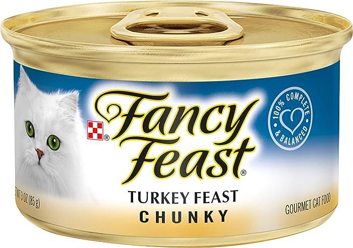 The Best Fancy Feast Turkey Pate Cat Food