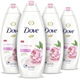 Dove Body Wash 100% Gentle Cleansers, Sulfate Free Peony and Rose Oil Effectively Washes Away Bacteria While Nourishing…