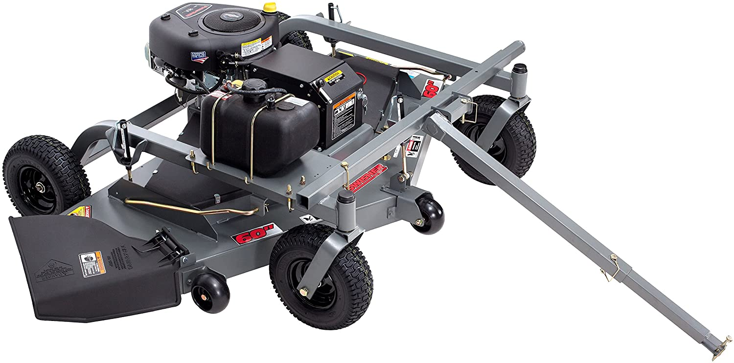 Amazon.com : Swisher FC14560BS 14.5 HP 60-Inch Electric Start Tow Behind  Finish Cut Mower : Garden & OutdoorAmazon.com