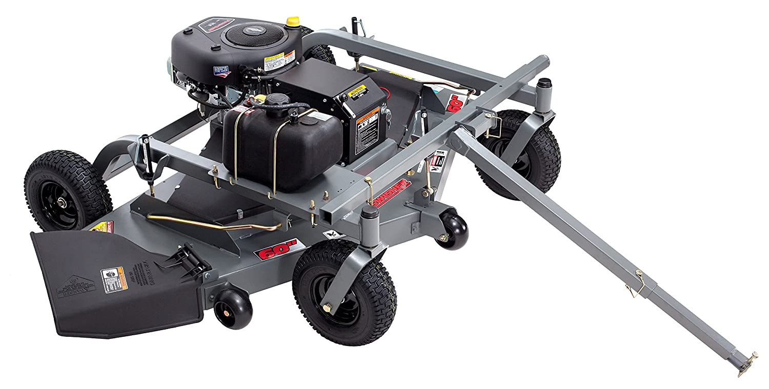 Swisher FC14560BS 14.5 HP 60-Inch Electric Start Tow Behind Finish on