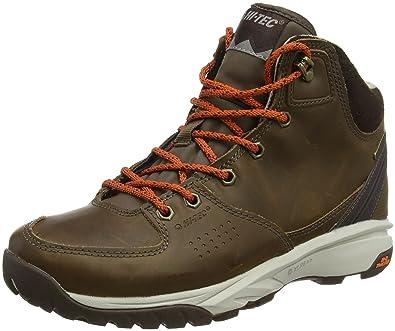 Hi-Tec Damen Wild-Life Luxe I Waterproof Trekking-& Wanderstiefel, Braun (Brown), 40 EU