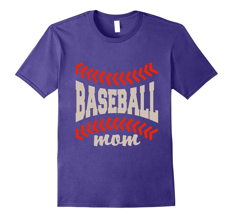 Lovely Baseball Mom T Shirt-TH