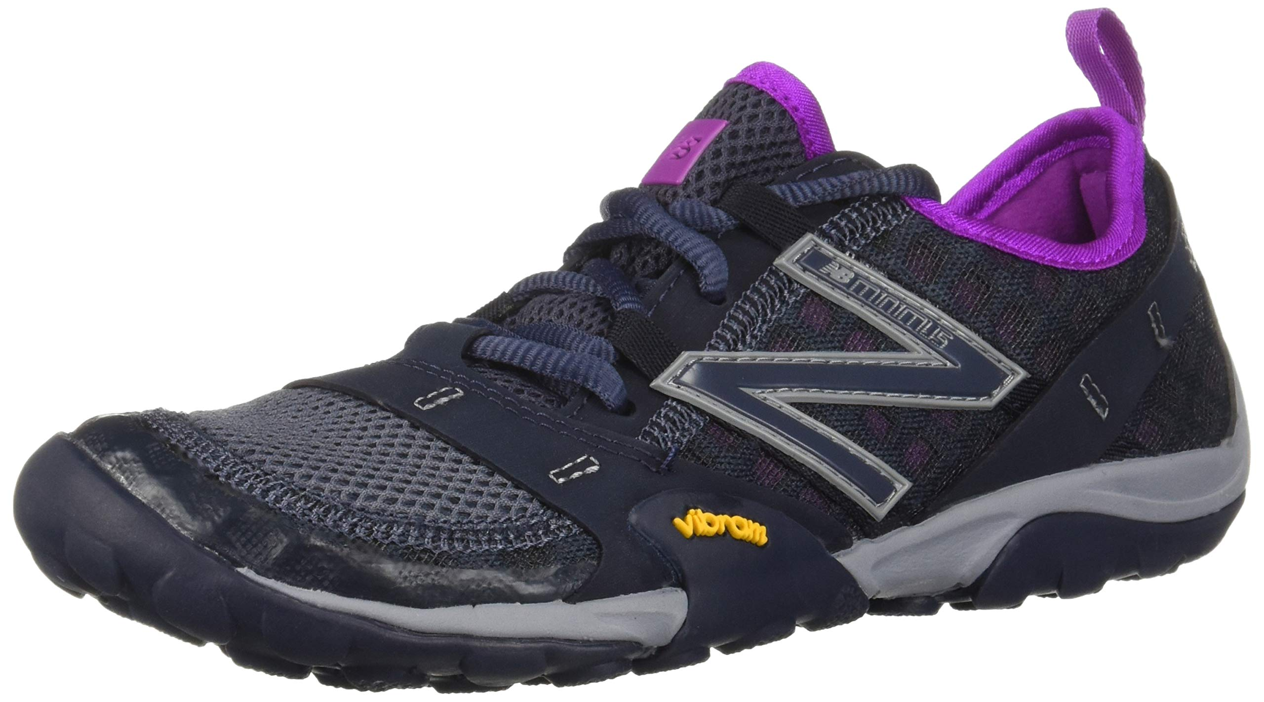 New Balance Women's 10v1 Minimus Trail Running Shoe, Outerspace/Voltage Violet, 7 D US by New Balance