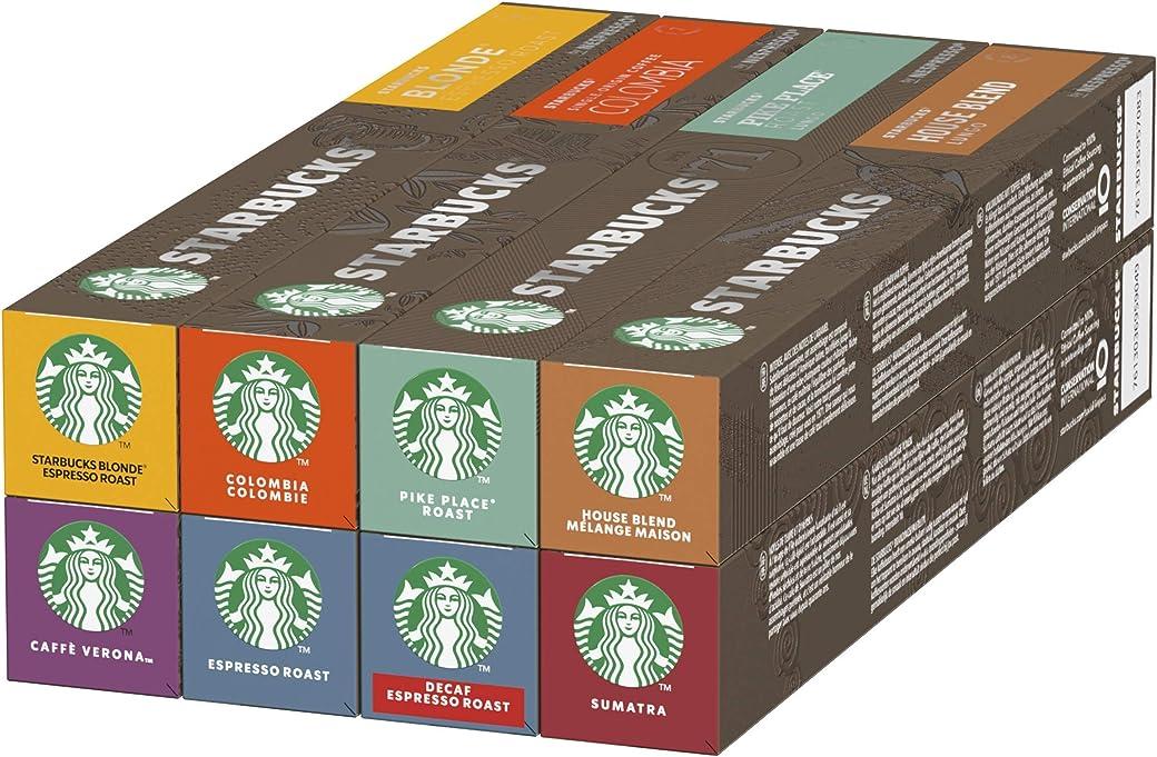 Starbucks Variety Pack De Nespresso Cápsulas De Café