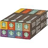 Starbucks Variety Pack De Nespresso Cápsulas De Café 8 X Tubo De 10 Unidades