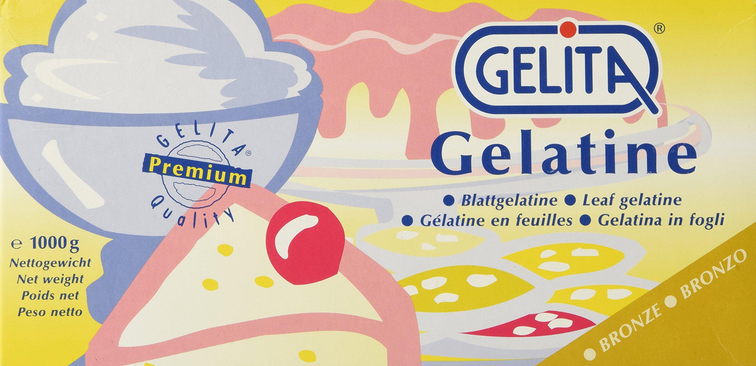 Leaf Gelatine Sheets - Bronze - 2.2 lb box Gelita