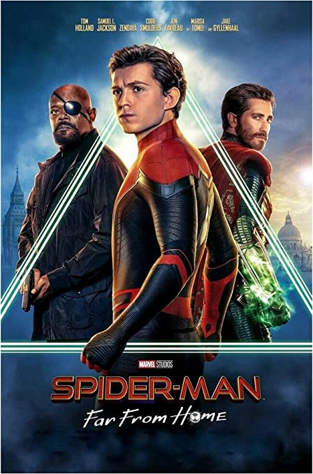 """Spiderman Far From Home  High Quality Print 27/"""" x 40/"""""""