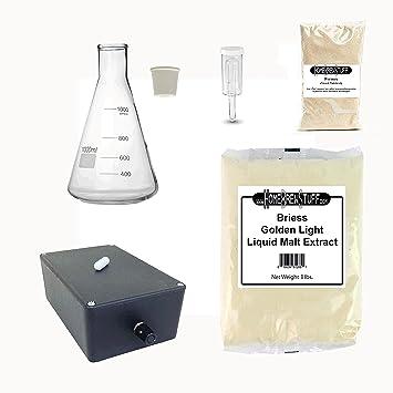HomeBrewStuff - Kit de elaboración de cerveza con agitador magnético: Amazon.es: Amazon.es