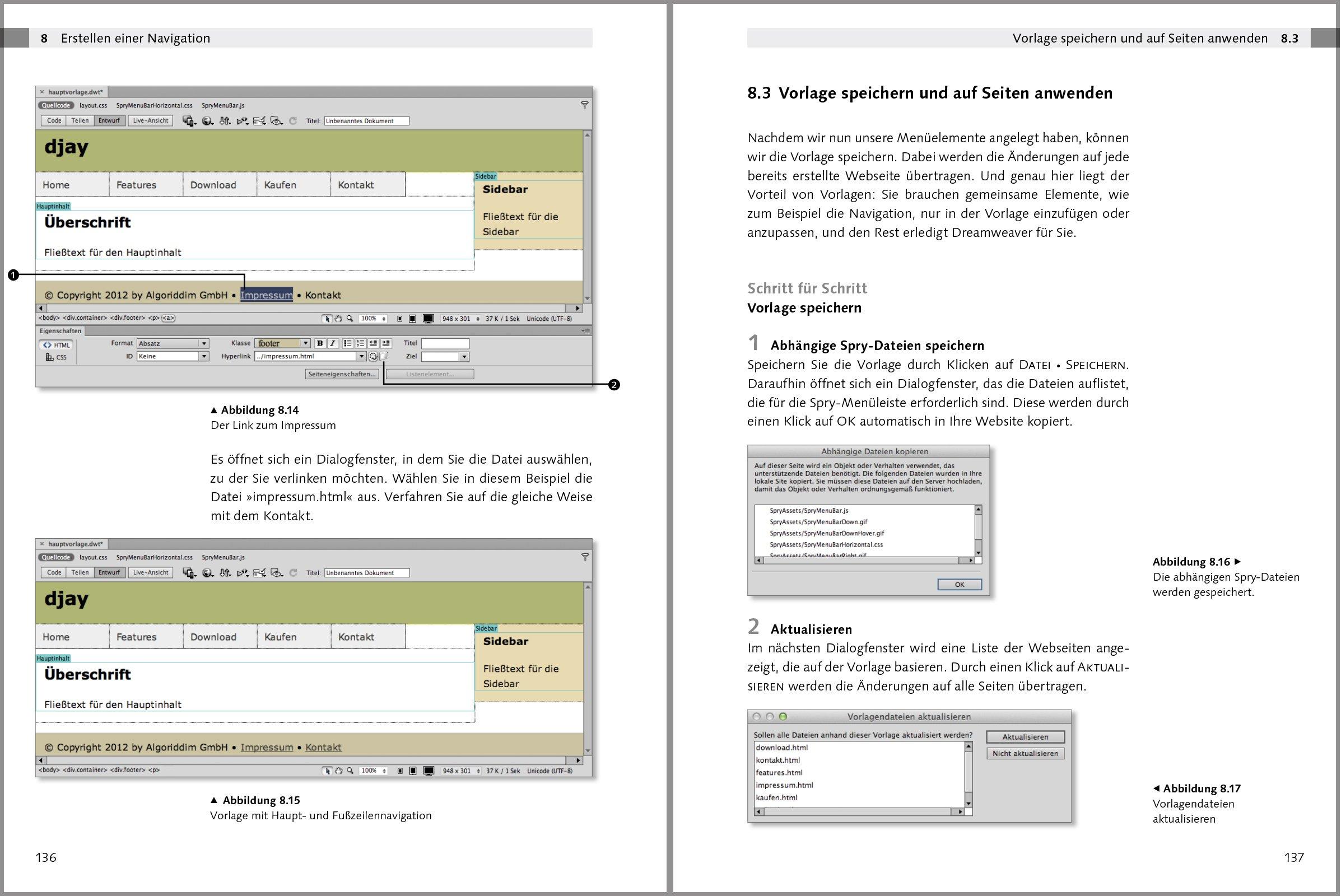 Erfreut Adobe Dreamweaver Vorlage Zeitgenössisch - Beispiel Business ...