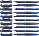 Schneider ONE Business Rollerball Pen, 0.6mm, Blue, Box of 10