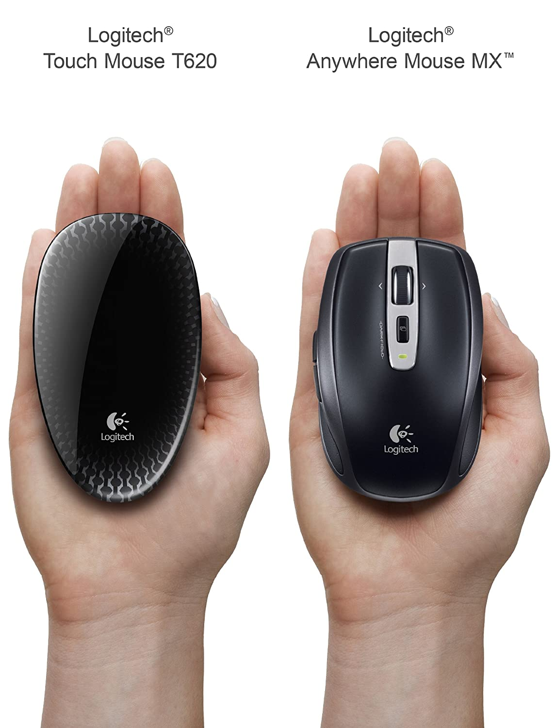aca160230c1 Amazon.in: Buy Logitech Touch Mouse T620 with Full Touch Surface for Windows  8 - Graphite (910-003346) Online at Low Prices in India | Logitech Reviews  & ...