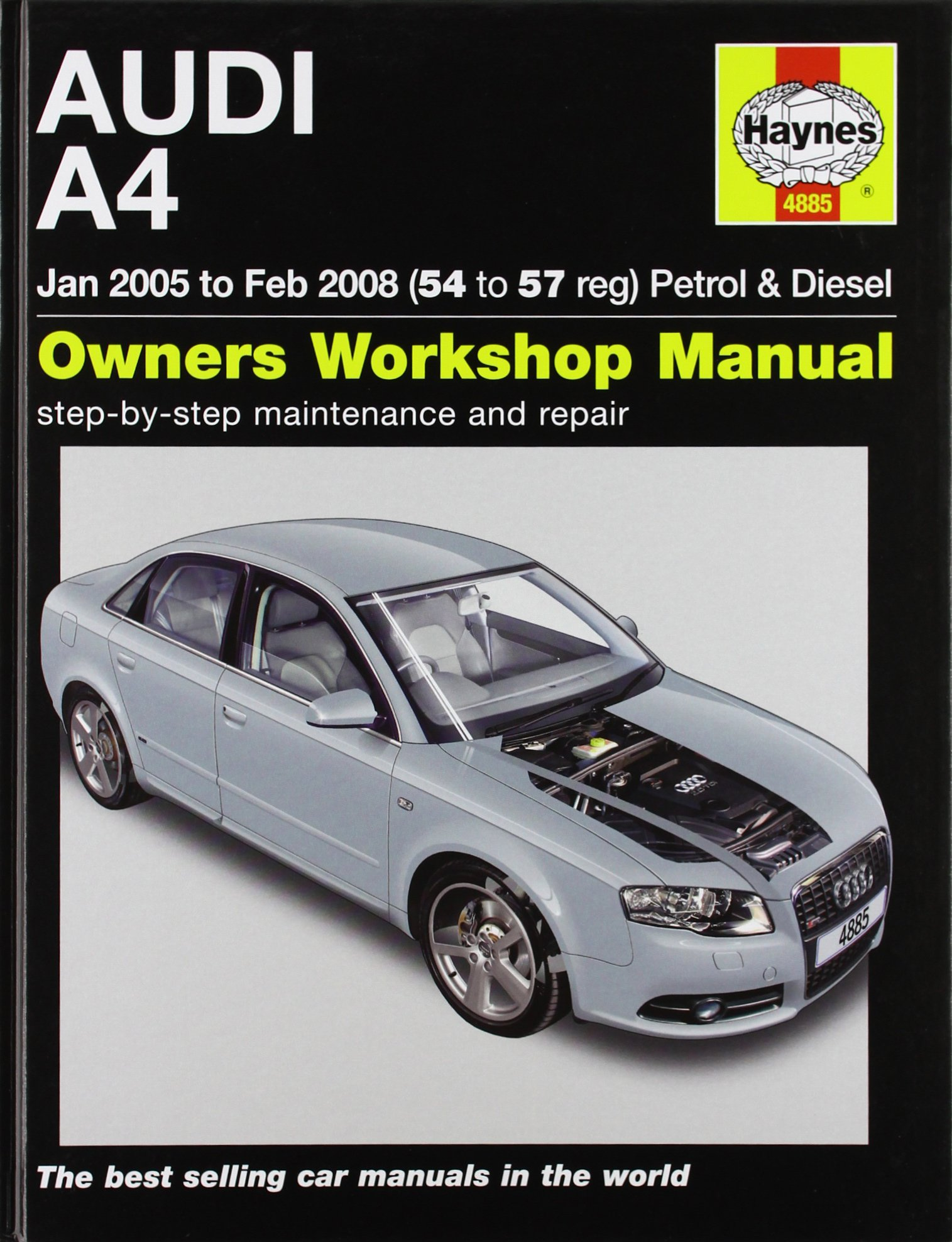 Audi A4 Petrol and Diesel Service and Repair Manual: 2005 to 2008 (Haynes  Service and Repair Manuals): Martynn Randall: 9781844258857: Amazon.com:  Books