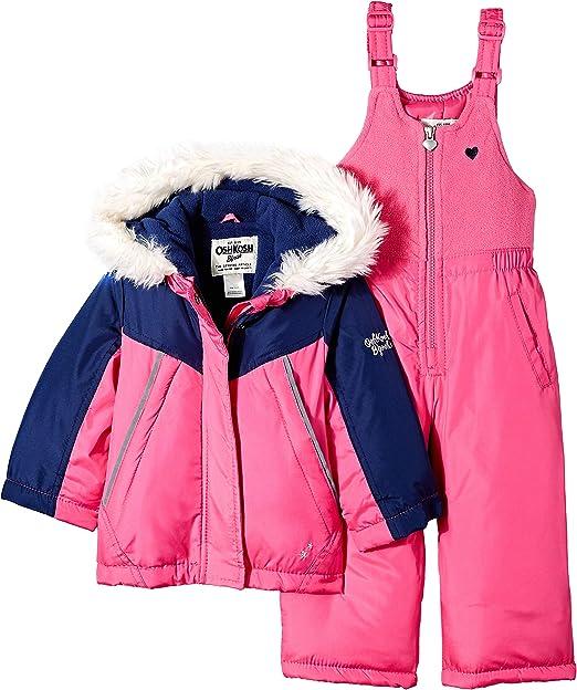 OshKosh BGosh Boys Little Ski Jacket and Snowbib Snowsuit Set