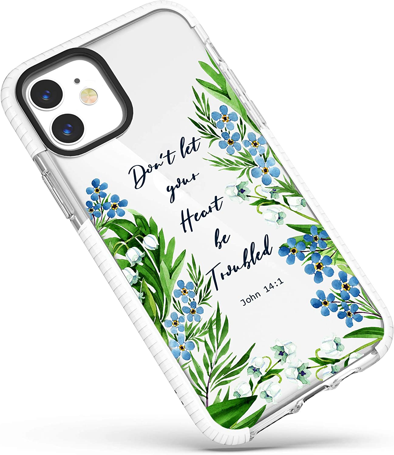 iPhone X case floral lilies iPhone 12 Pro Max Case White lily flower iPhone 12 Case gift for her iPhone 11 Pro Max Case iPhone 8 case