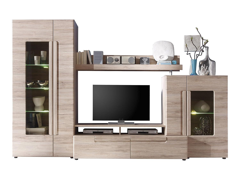 Beeindruckend Wohnwand 200 Cm Referenz Von Trendteam Smart Living 132498390 Malea Mit Und