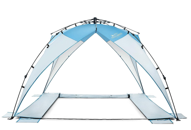 separation shoes 7c836 de31c Pacific Breeze Sand & Surf Beach Shelter with Moveable Sides ...