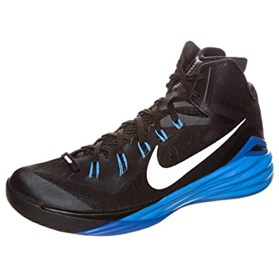 00c86d9f0c45 Nike Hyperdunk 2014 Men Basketball Sneakers New Black Blue