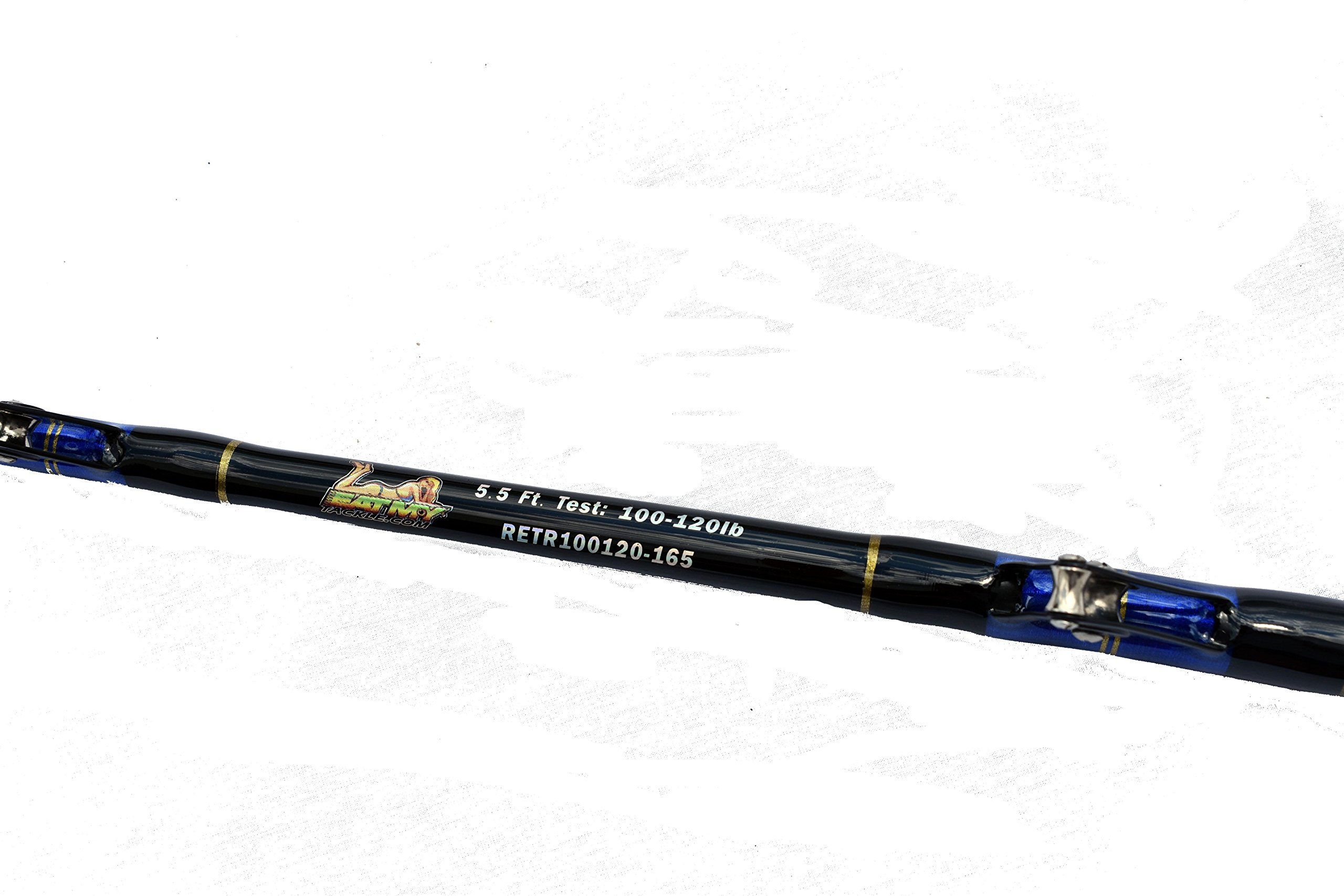 EAT MY TACKLE 100-120 lb. All Roller Big Game Fishing Rod