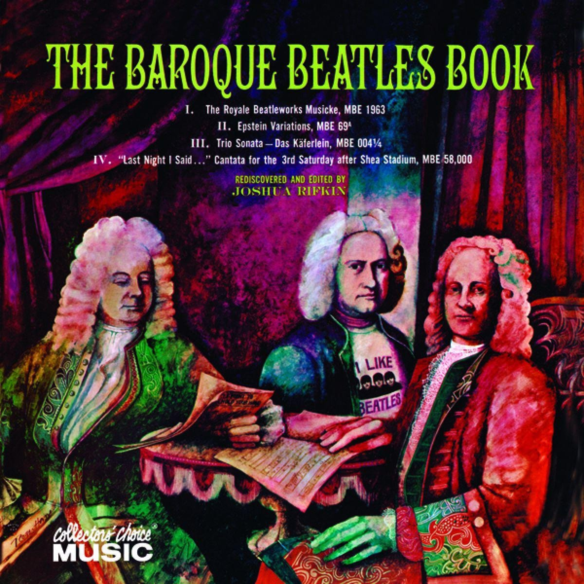 Baroque Beatles Book by Collector's Choice
