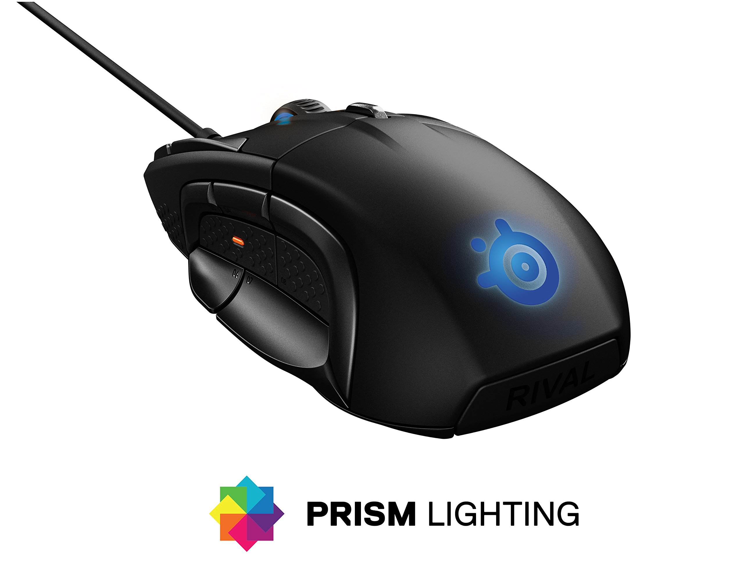 SteelSeries Rival 500 MMO/MOBA 15-Button Programmable Gaming Mouse - 16,000 CPI by SteelSeries (Image #2)
