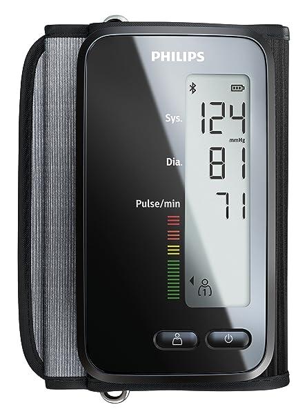 Philips DL8760/01 - Tensiómetro (Antebrazo, Automático, Negro, 2 usuario(
