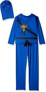 Charades Child's Ninja Avenger Costume, Blue, Small
