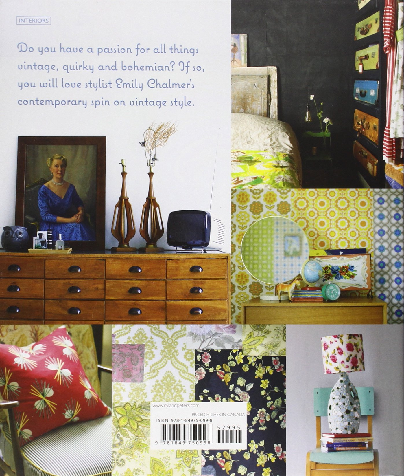 Buy Modern Vintage Style Using Pieces In The Contemporary Home Book Online At Low Prices India
