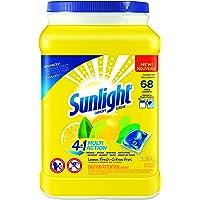Sunlight 4-in-1 Laundry Single Dose Multi-Action Lemon Fresh 68-Count