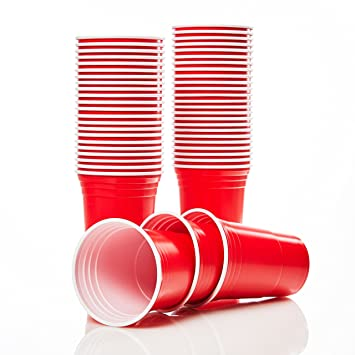 Lumaland Vasos Para Fiestas Party Vasos Rojos Vasos Para Fiestas
