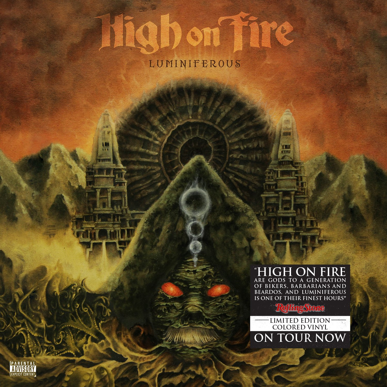 Vinilo : High on Fire - Luminiferous (LP Vinyl)