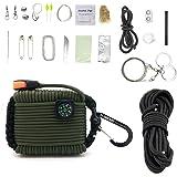 Gecko Equipments Paracord Deluxe Grenade Survival Kit