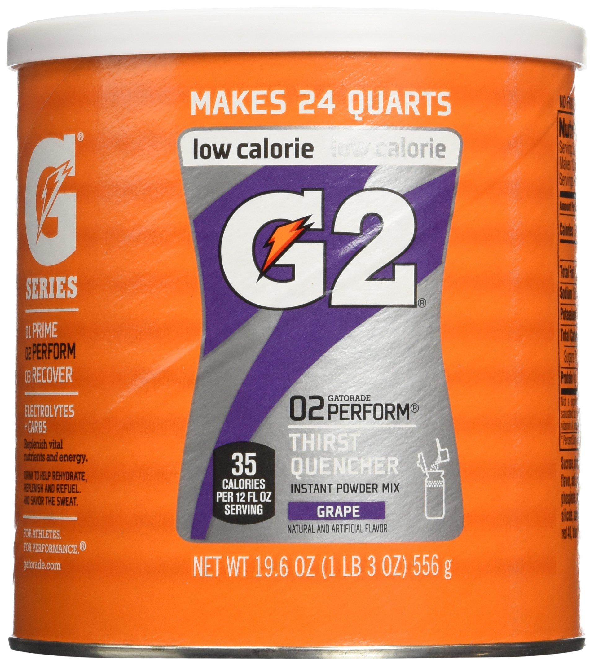 Gatorade Perform G2 02 Perform Thirst Quencher Instant Powder Grape Drink 19... 8