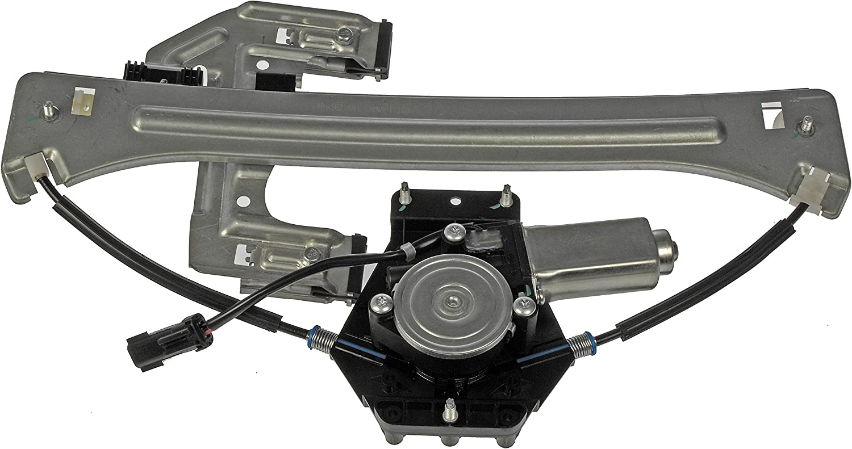 Dorman 748-922 Rear Driver Side Power Window Regulator and Motor Assembly for Select Nissan Models