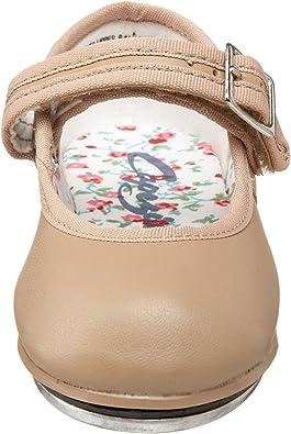 Capezio Mary Jane Tan Buckle Tap Shoes #3800 Children /& Adult Beginner