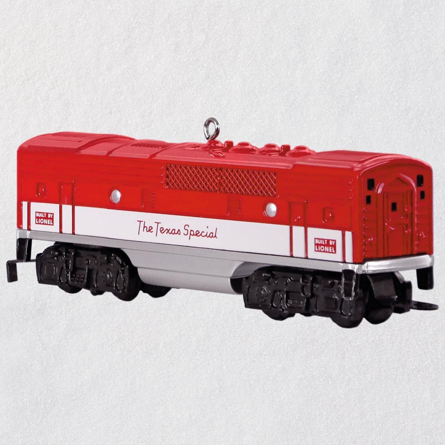 Hallmark LIONEL 2245C Texas Special B Unit Metal Ornament keepsake-ornaments Transportation
