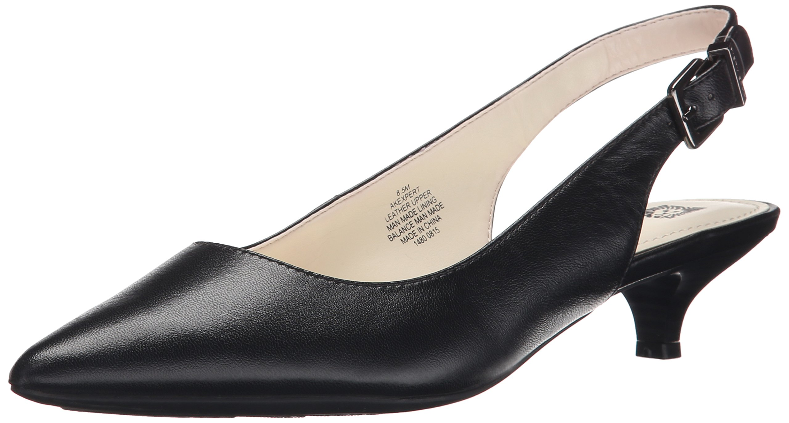 Anne Klein Women's Expert Dress Pump, Black, 7.5 M US