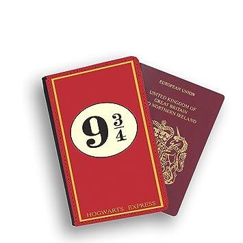 cb56e65549da62 Harry Potter Platform 9 3/4 Wizard Hogwarts Passport Wallet Card Holder  Boarding Pass Travel Protection Flip Cover Case With Elastic: Amazon.co.uk:  Luggage
