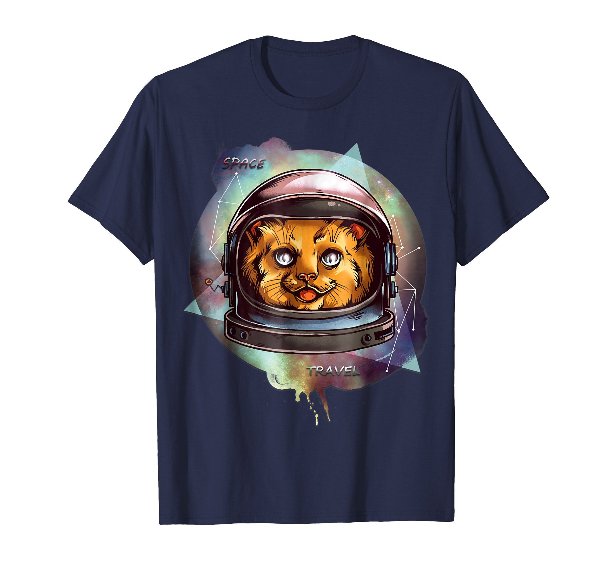 Cat Tshirt funny gift AND SPACE TRAVEL 2020 America