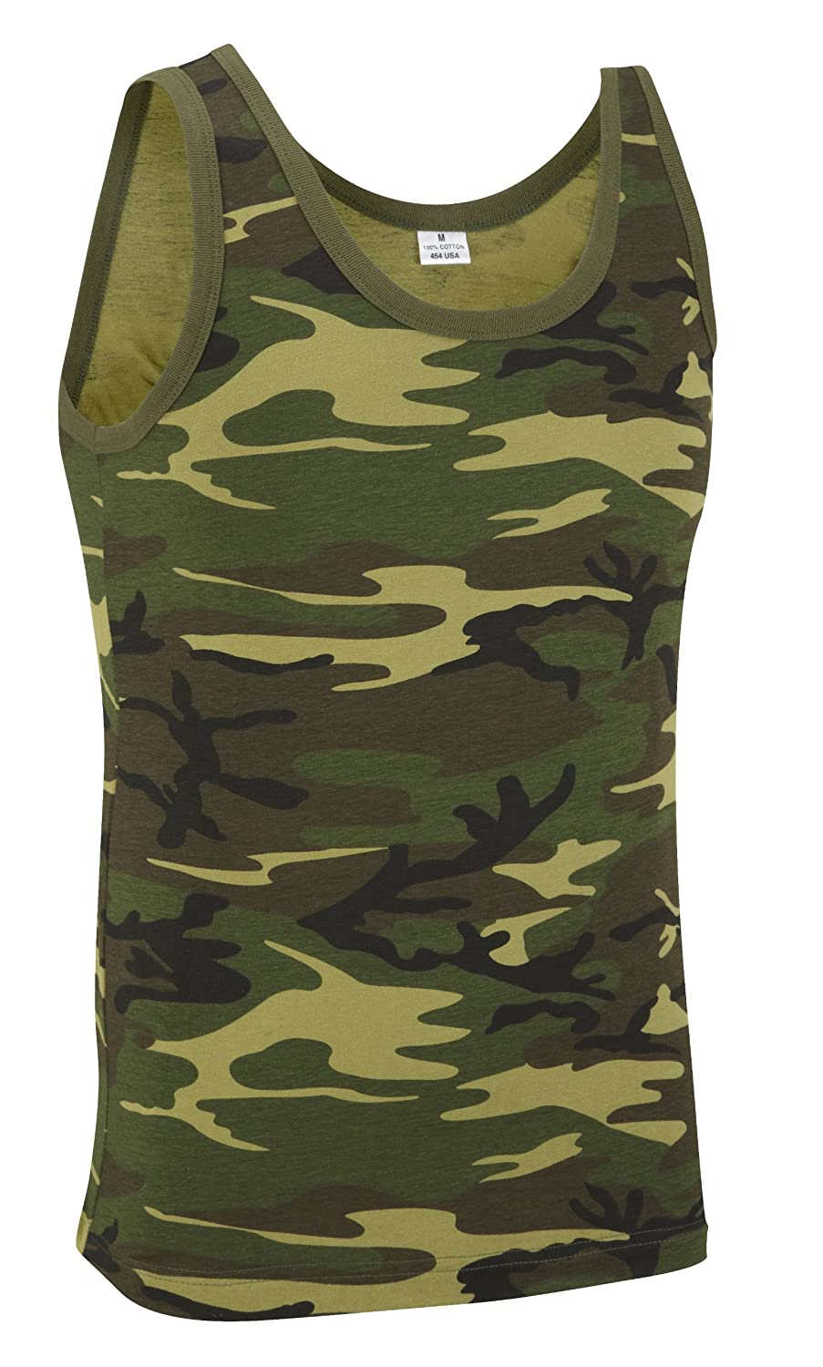 1ee61b8591df8 Camouflage Military Vest Top - Woodland Camouflage  Amazon.co.uk  Clothing